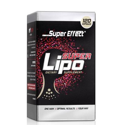 שורף שומן סופר אפקט סופר ליפו 120 כדורים Super Effect Super Lipo